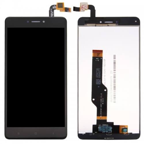Картинка Дисплей Xiaomi Redmi 4X в сборе с тачскрином черный от магазина NBS Parts