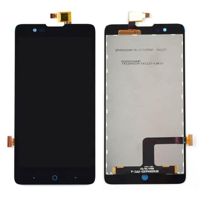 Картинка Дисплей ZTE Blade X5 в сборе с тачскрином Черный от магазина NBS Parts