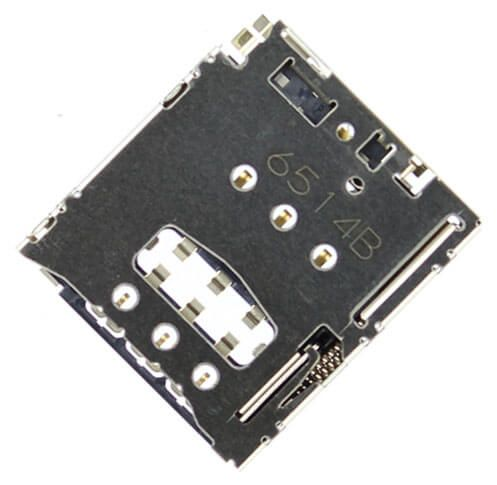 Картинка Коннектор SIM Lenovo A8-50 (A5500) от магазина NBS Parts