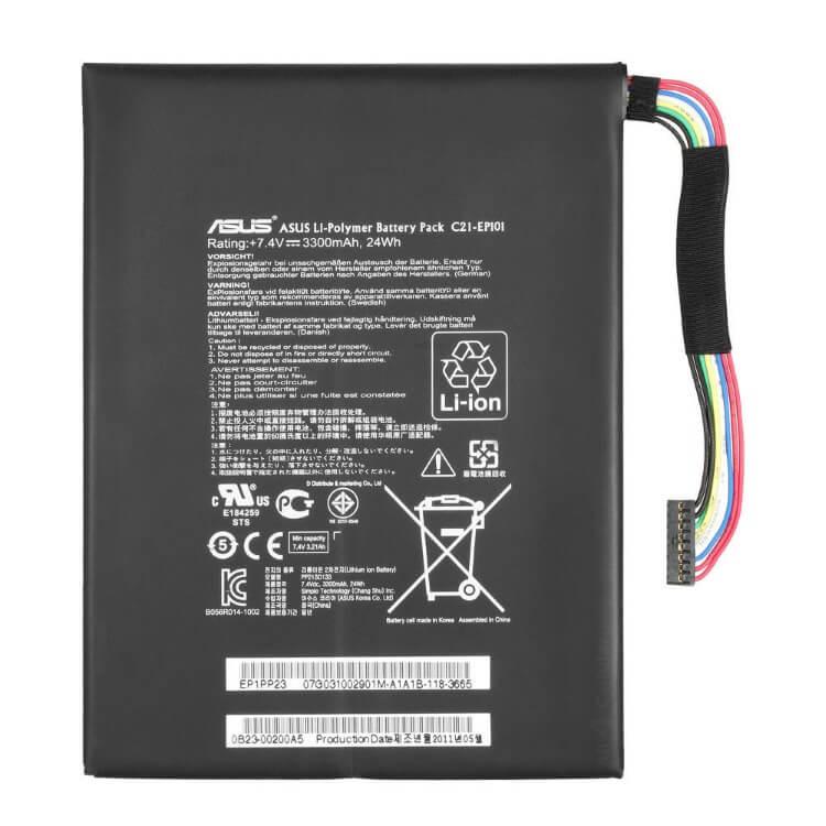Картинка АКБ для планшета Asus C21-EP101 TF101 3300mAh 24 Wh от магазина NBS Parts