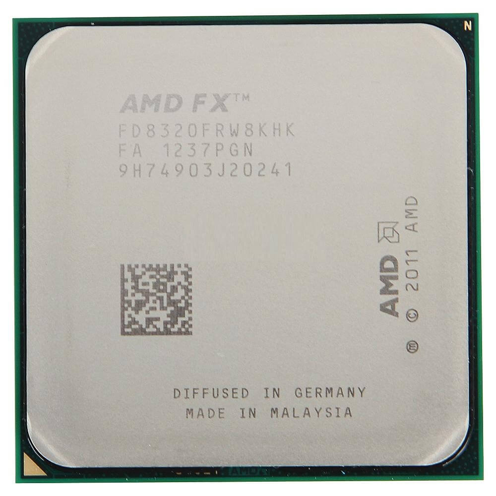 Картинка Процессор AMD FX-8320 Vishera 3500MHz 8Mb TDP-125W SocketAM3+ BOX от магазина NBS Parts