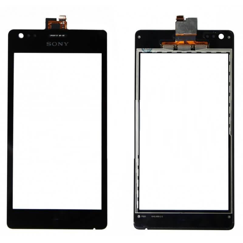 Картинка Сенсор Sony C1905/1904/C2005  (черный) от магазина NBS Parts
