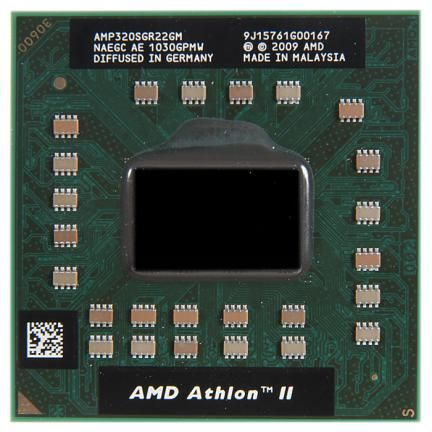 Картинка AMD Athlon II Dual-Core Mobile P320 AMP320SGR22GM (Я098) от магазина NBS Parts