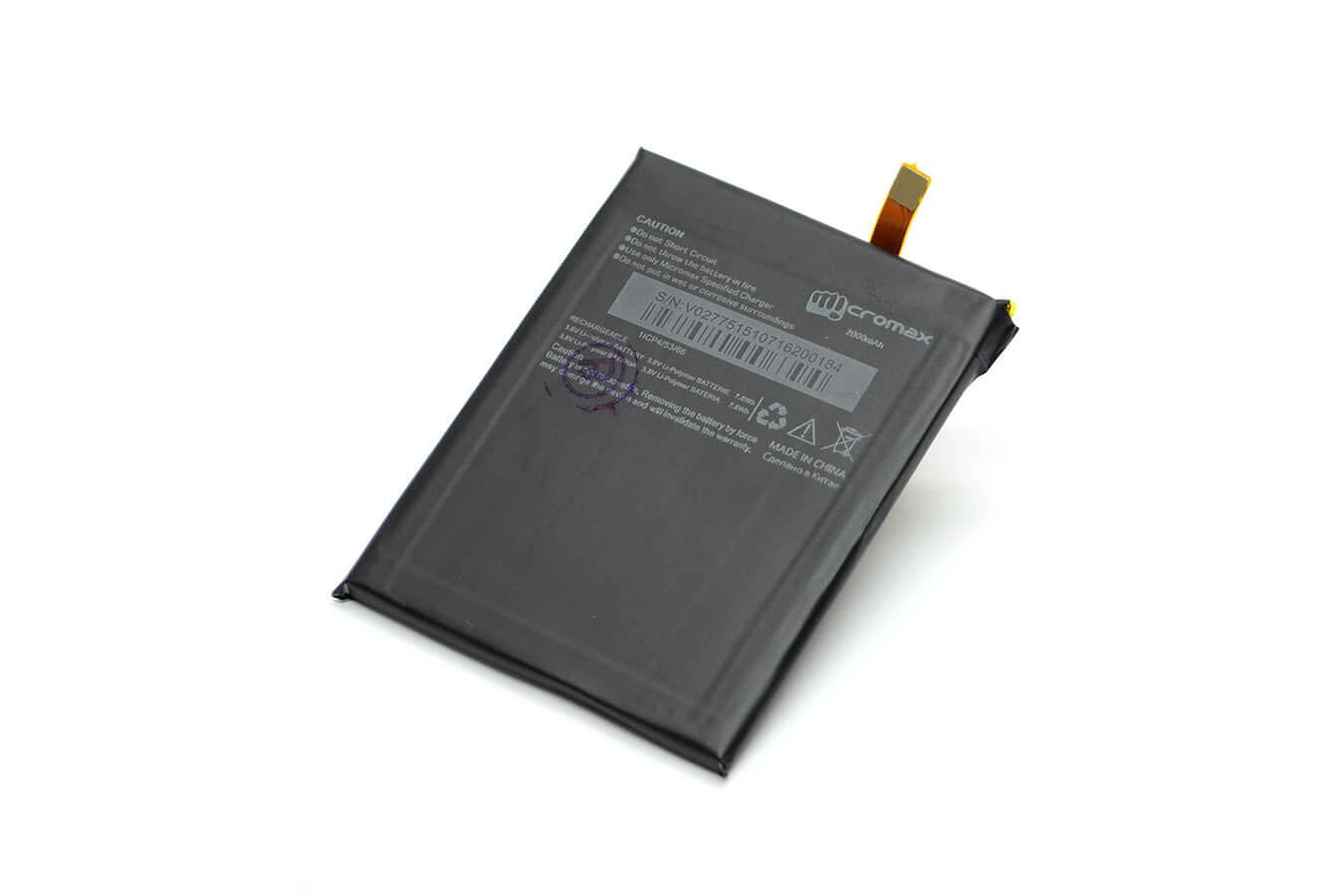 Картинка АКБ Micromax Q380 от магазина NBS Parts