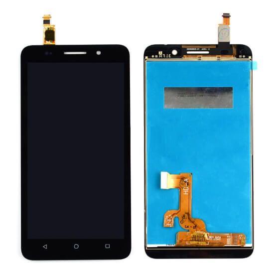 Картинка Дисплей Huawei Honor 4X в сборе с тачскрином черный от магазина NBS Parts