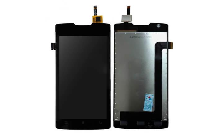 Картинка Дисплей Lenovo A1000 в сборе с тачем черный от магазина NBS Parts