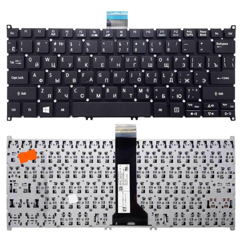 Картинка Клавиатура для Acer V5-122 E11 V13 V5-331 E3-111 V3-371 P/N: 60.MPJN1.026, 60.MRTN1.022 от магазина NBS Parts