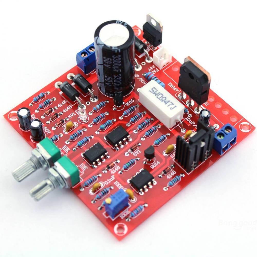 Картинка Регулируемый Блок Питания 0-30 В ма-3А Регулируемый DC DIY Kit  от магазина NBS Parts