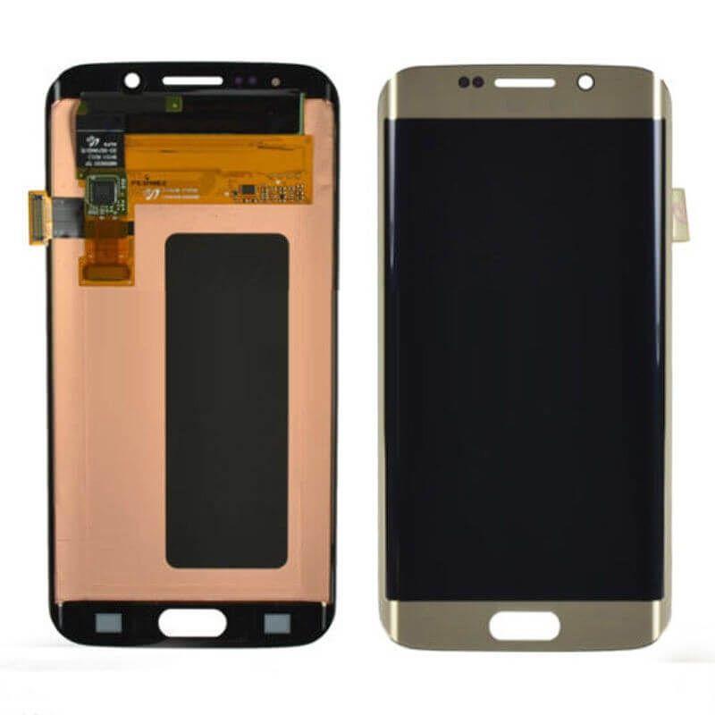 Картинка Дисплей Samsung G925F Galaxy S6edge в сборе с тачскрином золото ORIG  от магазина NBS Parts