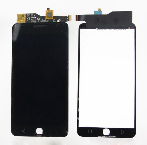 Картинка Дисплей Alcatel OT 5022D в сборе с тачем черный  от магазина NBS Parts