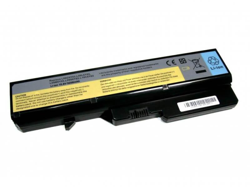 Картинка АКБ для ноутбука Lenovo G560 G570 G460 G470 (11.1V 4400mAh) PN: L09C6Y02, L09L6Y02, L09N6Y02, L09M6Y от магазина NBS Parts