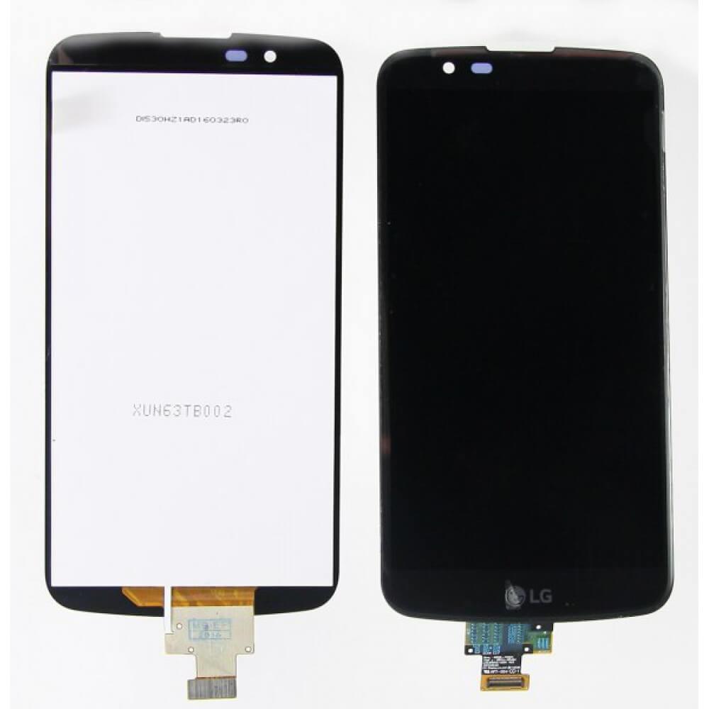 Картинка Дисплей LG K410/K430 (K10) в сборе с тачем черный от магазина NBS Parts