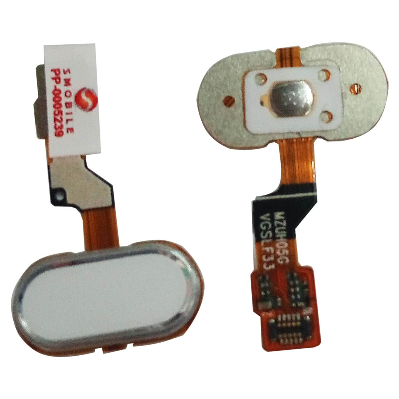 Картинка Шлейф Meizu M3s mini шлейф на кнопку HOME белый от магазина NBS Parts