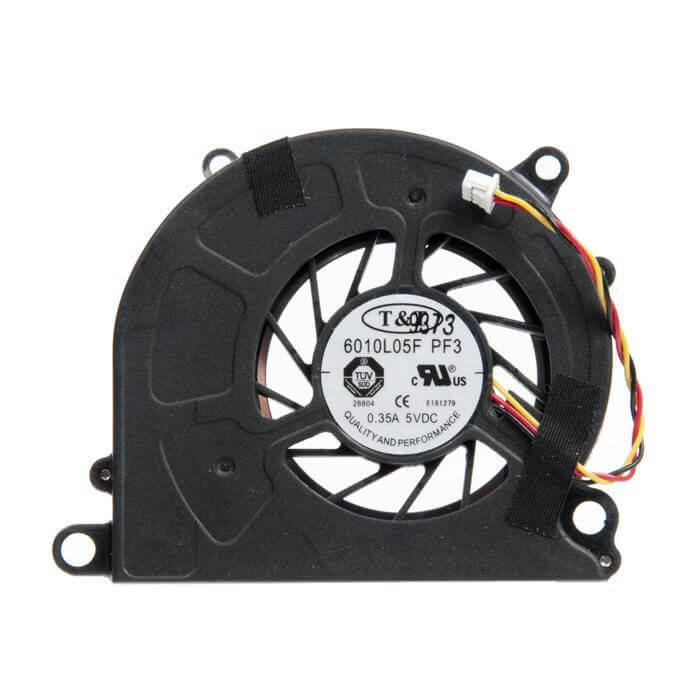 Картинка Вентилятор MSI U90 U100 U120 U135 p/n: DFS45135M10T F831 CW от магазина NBS Parts