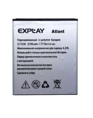 Картинка АКБ Explay Atlant 2100Mah 3.7V от магазина NBS Parts