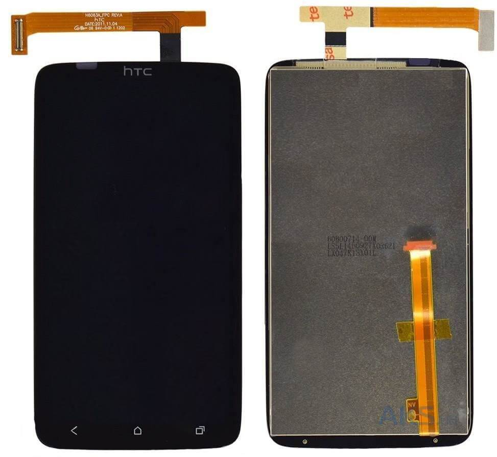 Картинка Дисплей HTC One X/S720 в сборе с тачскрином Черный от магазина NBS Parts