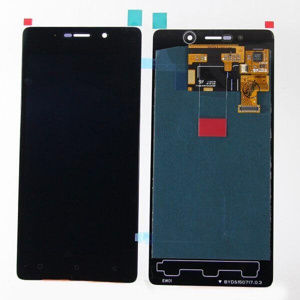 Картинка Дисплей Highscreen Power Five в сборе с тачскрином черный от магазина NBS Parts