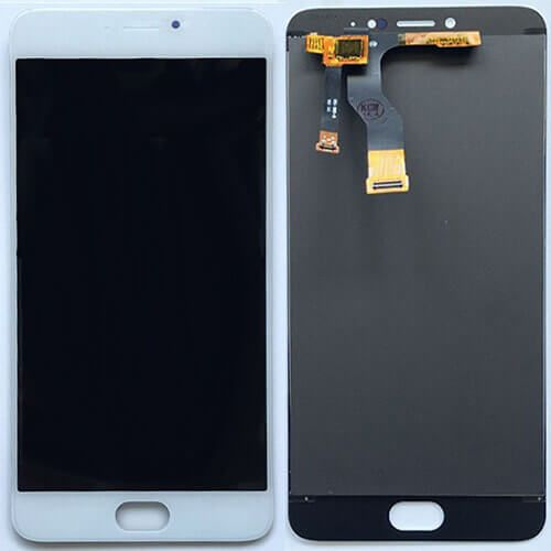 Картинка Дисплей Meizu M3 Note (L681H) в сборе с тачскрином Белый от магазина NBS Parts