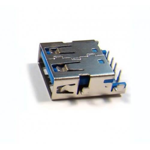 Картинка Разъем USB №111 одинарный USB 3.0 (Я042) от магазина NBS Parts