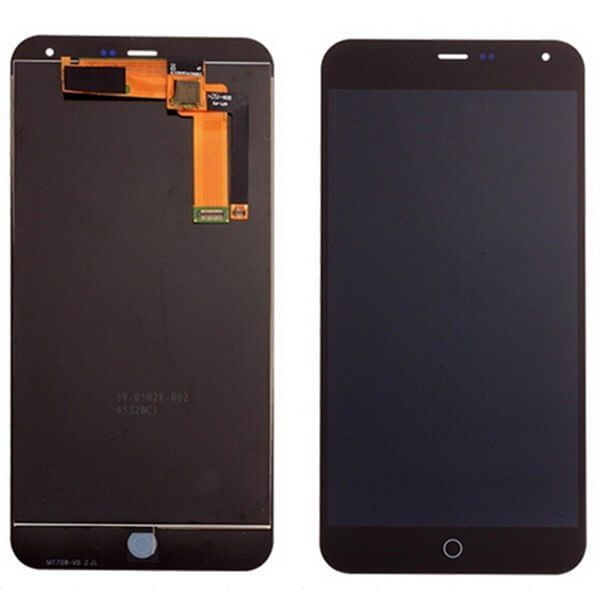 Картинка Дисплей Meizu M1 Note в сборе с тачскрином черный от магазина NBS Parts