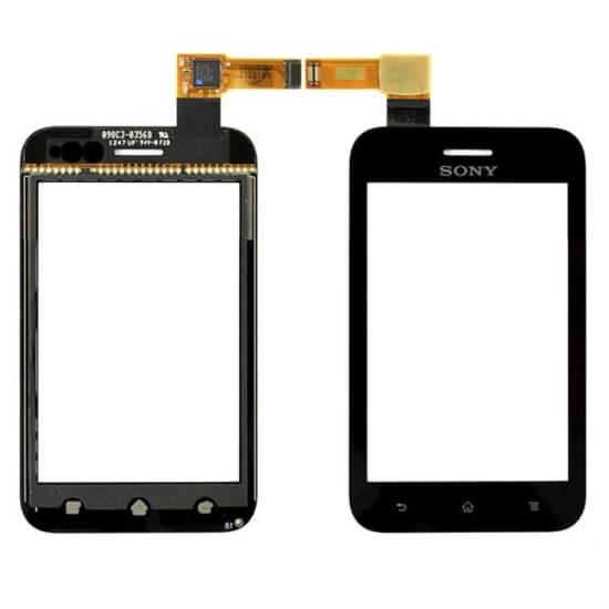 Картинка Сенсор Sony ST21i/ST21i2 Xperia Tipo (чёрный) от магазина NBS Parts