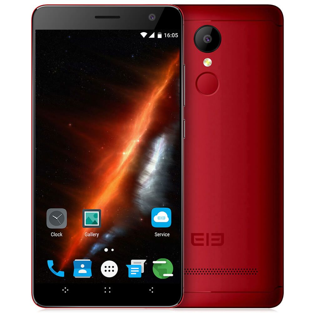 "Картинка Смартфон Elephone A8 5.0"" Красный 1Gb/8Gb GPS GSM WiFi отпечаток пальца  от магазина NBS Parts"