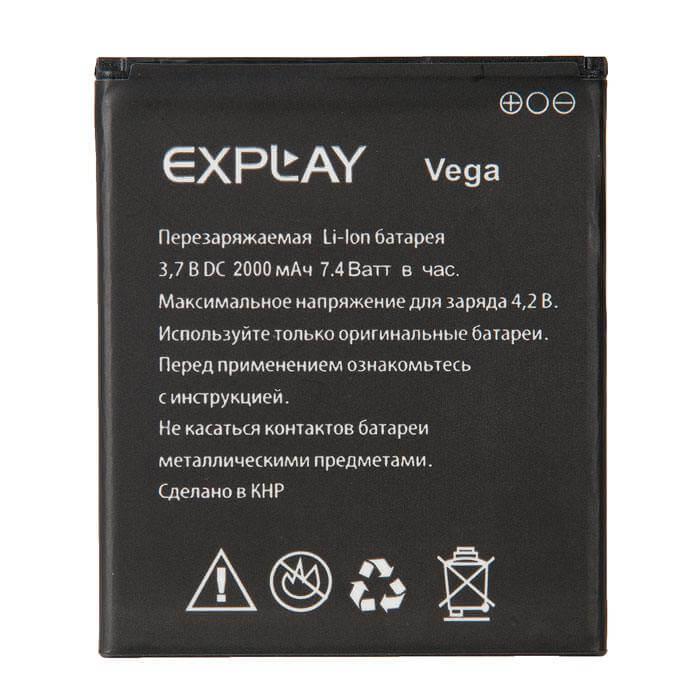 Картинка АКБ Explay Vega от магазина NBS Parts