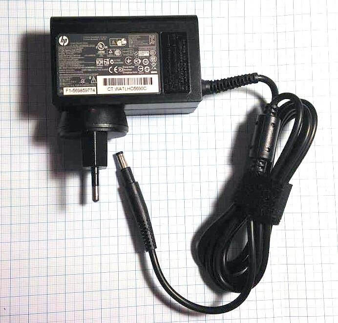 Блок питания для ноутбука HP Ultrabook ENVY 4 19.5V 3.33A стеновой