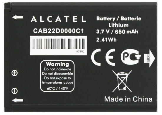 Картинка АКБ Alcatel 2012D CAB22D0000C1 от магазина NBS Parts