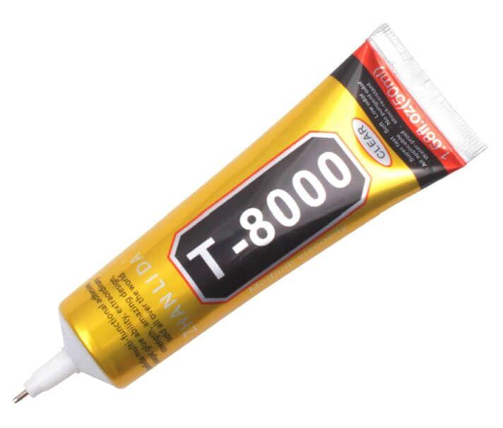 Картинка Клей T-8000 (для соединения рамки с тачскрином) 110ml от магазина NBS Parts