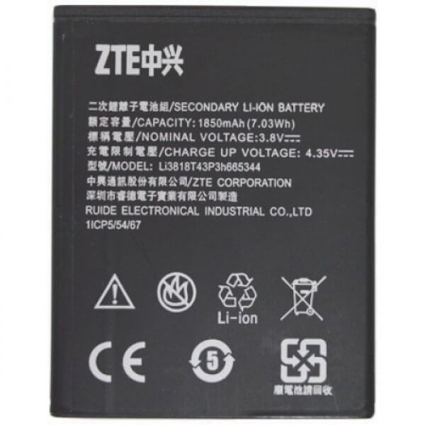 Картинка АКБ ZTE T320 Li3818T43P3h665344 от магазина NBS Parts