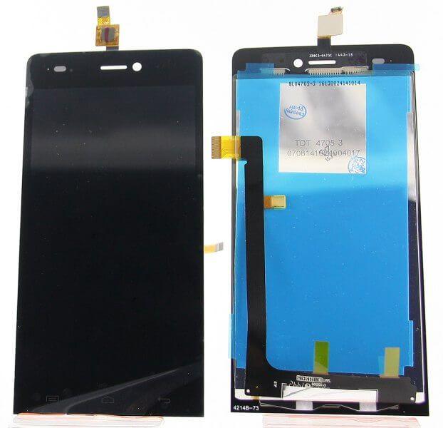 Картинка Дисплей Explay Indigo в сборе с тачскрином черный от магазина NBS Parts