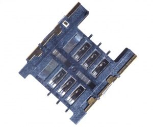 Картинка Коннектор SIM HTC Desire C от магазина NBS Parts