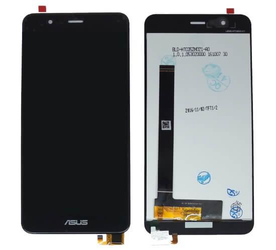 Картинка Дисплей Asus ZenFone 3 MAX (ZC520TL)  в сборе с тачскрином Черный от магазина NBS Parts