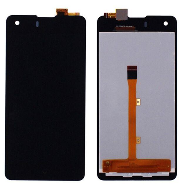 Картинка Дисплей Highscreen Prime S в сборе с тачскрином черный от магазина NBS Parts