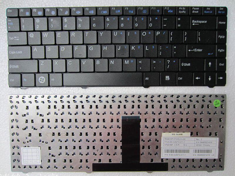 Картинка Клавиатура для DNS Clevo W84 P/n: MP-07G33US-430 от магазина NBS Parts