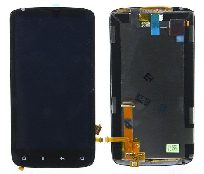 Картинка Дисплей HTC Sensation в сборе с тачскрином Черный от магазина NBS Parts