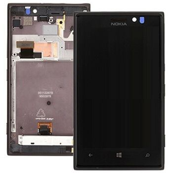 Детальная картинка Дисплей Nokia 925 в сборе с тачскрином Черный от магазина NBS Parts