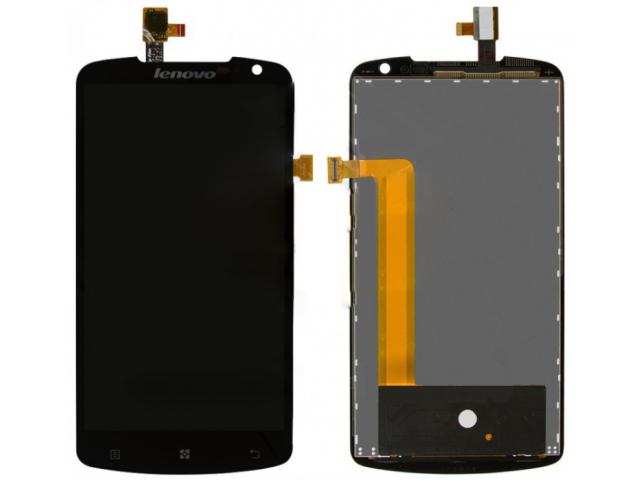 Картинка Дисплей Lenovo S920 в сборе с тачскрином черный от магазина NBS Parts