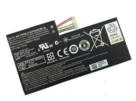 Картинка АКБ Acer Iconia Tab A1-810, 811, 3.75V 4960 mah AC13F3L Li-ion от магазина NBS Parts