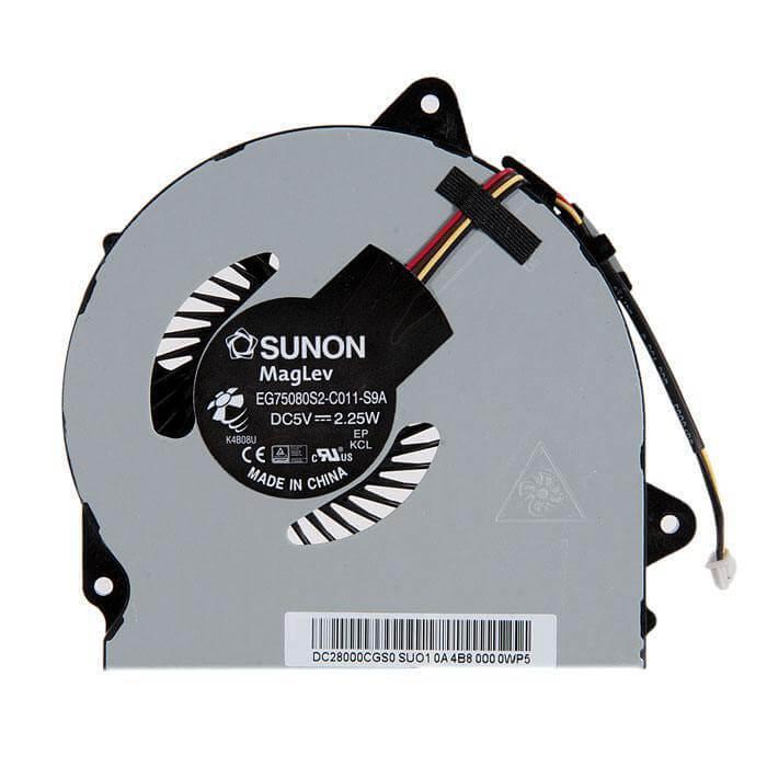 Картинка Вентилятор Lenovo G50-30 G40-30 P/N: EG75080S2-C011-S9A, DC28000BPS0, AT0TG0010F0 от магазина NBS Parts