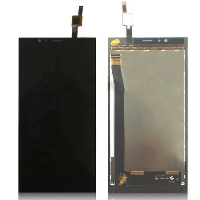 Картинка Дисплей Highscreen Pure Power в сборе с тачскрином черный от магазина NBS Parts