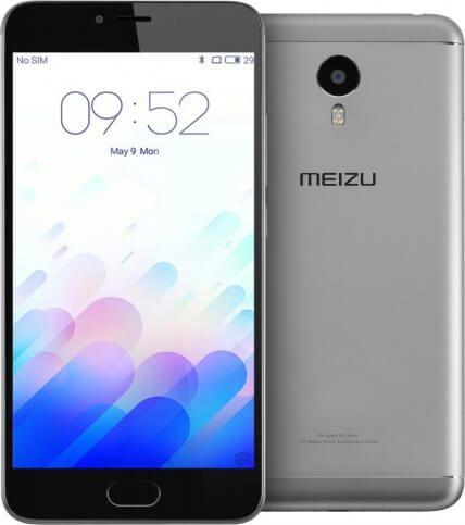 """Картинка Смартфон Meizu M3 Note 5.5"""" черно-серый 2Sim 3ГБ/32ГБ GSM LTE WiFi от магазина NBS Parts"""