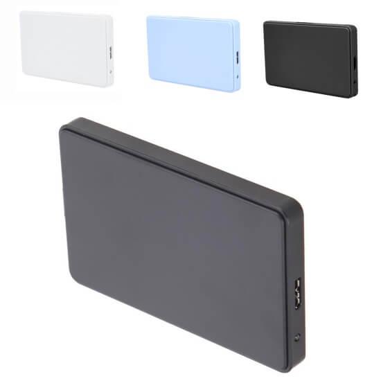 """Картинка 2.5"""" Внешний бокс USB 3.0 синие белые черные от магазина NBS Parts"""
