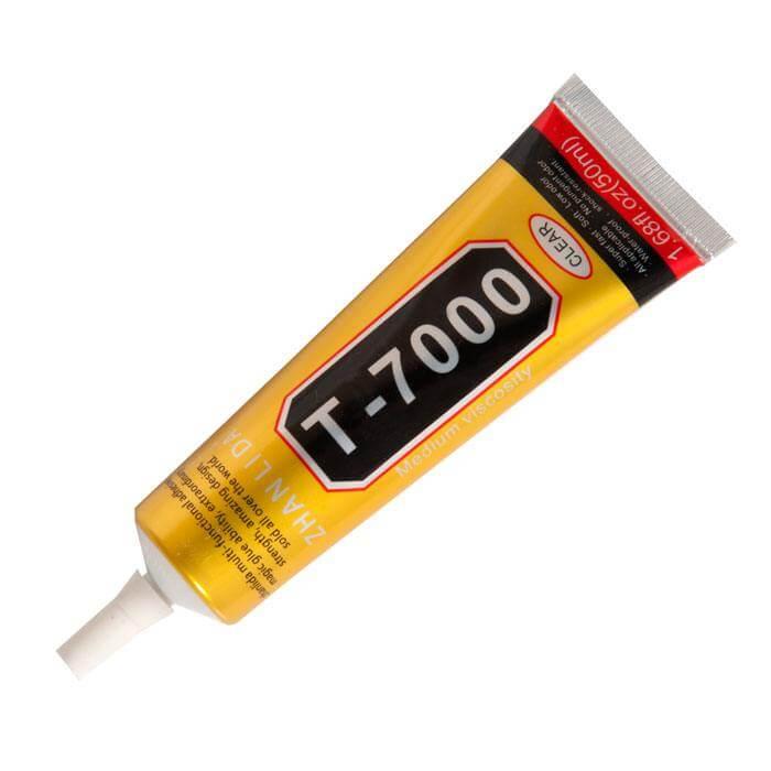 Картинка Клей T-7000 (для соединения рамки с тачскрином) черный 110ml от магазина NBS Parts