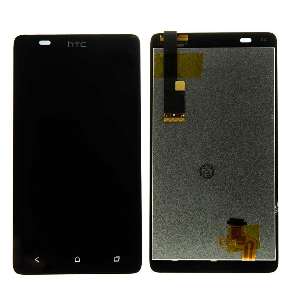 Картинка Дисплей HTC Desire 400 Dual в сборе с тачскрином черный от магазина NBS Parts