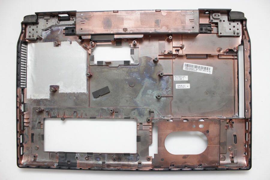 Картинка Нижняя часть корпуса, днище (корыто) Asus N53 13GNZT1XP12X от магазина NBS Parts