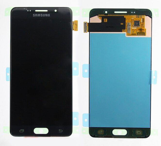 Картинка Дисплей Samsung A510F в сборе черный ORIG от магазина NBS Parts