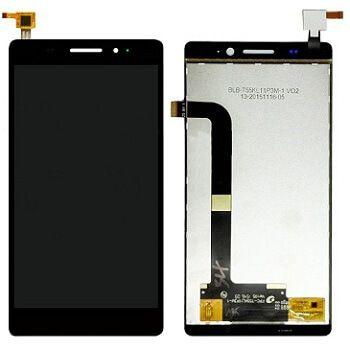 Картинка Дисплей Highscreen Spade в сборе с тачскрином Черный от магазина NBS Parts