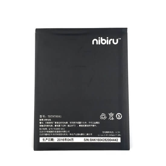 Картинка АКБ Highscreen Thor K-Touch Mars Nibiru H1 H1C TBT9780A1 от магазина NBS Parts